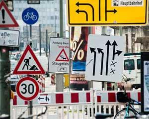 Verkehrszeichen Online