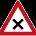 Zeichen 102 Kreuzung oder Einmündung