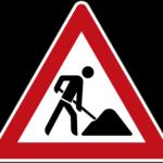 Zeichen 123 Arbeitsstelle