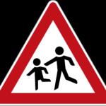 Zeichen 136-10 Kinder – Aufstellung rechts