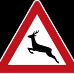 Zeichen 142-10 Wildwechsel – Aufstellung rechts