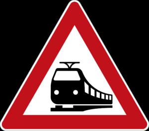 Zeichen 151 Bahnübergang