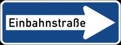 Zeichen_220_Einbahnstraße