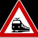 Verkehrsschild nach § 40 Absatz 7 StVO - Bahnübergang